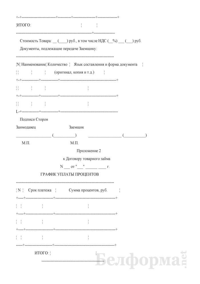 Договор товарного займа (вариант). Страница 7