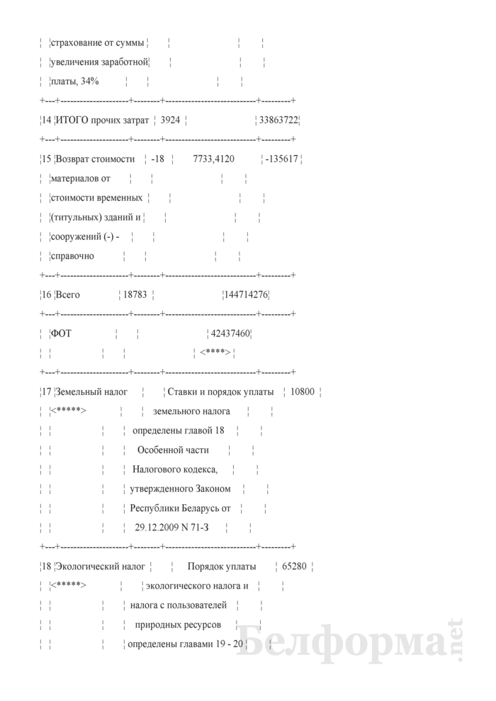 Акт сдачи-приемки выполненных строительных и иных специальных монтажных работ (Форма С-2, форма по ОКУД 0501030) (Образец заполнения). Страница 9