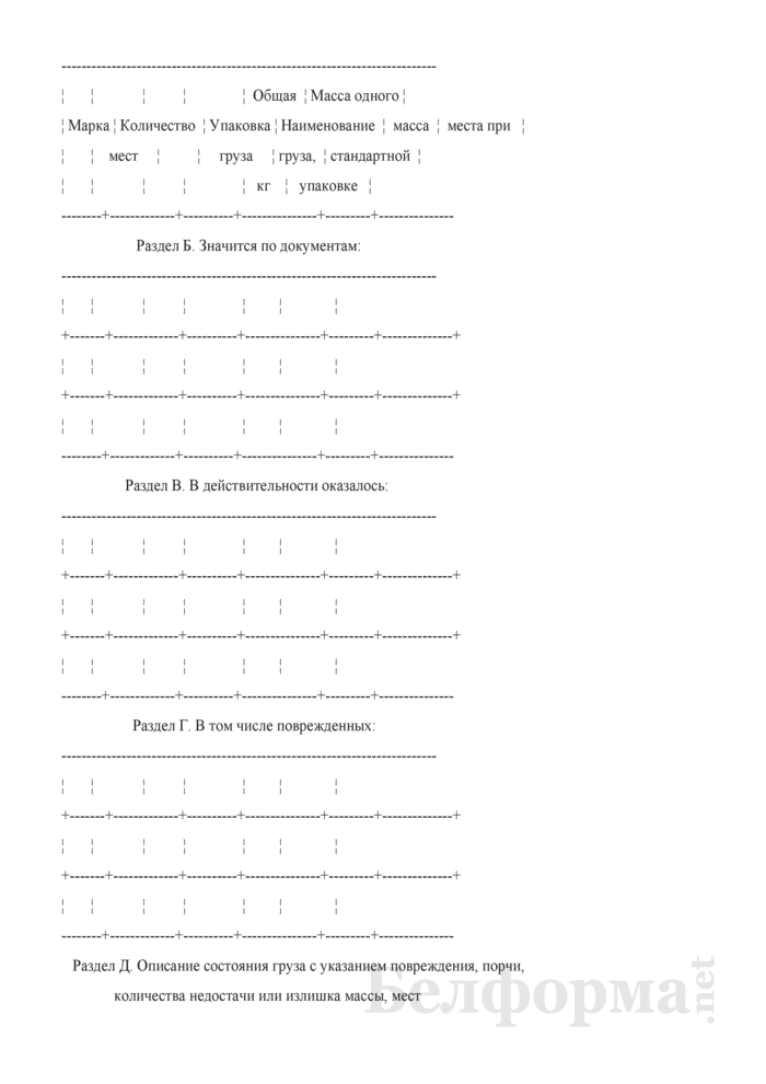 Коммерческий акт (Форма ГУ-22). Страница 3