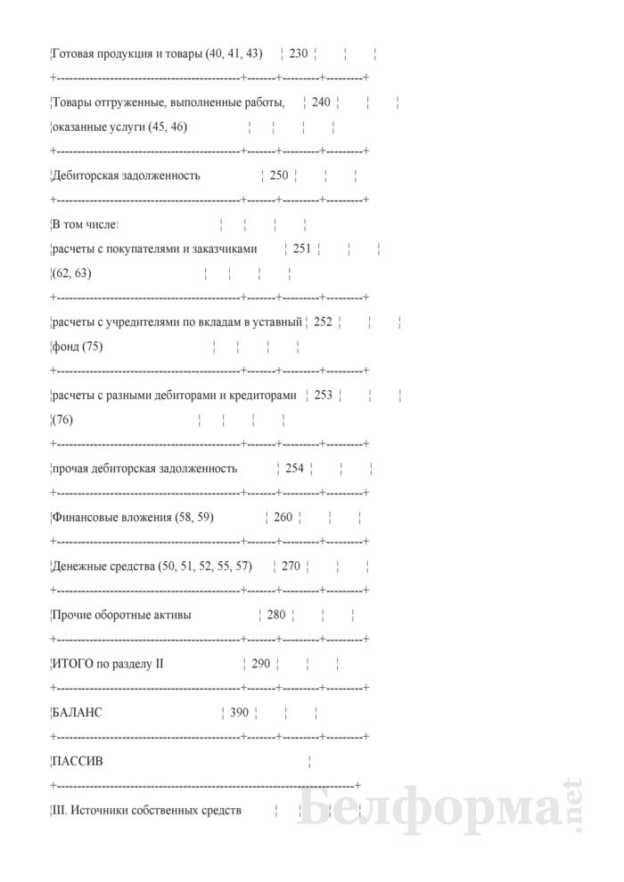 Передаточный акт имущества предприятия в уставный фонд акционерного общества, создаваемого в процессе приватизации собственности Гродненского района. Страница 4