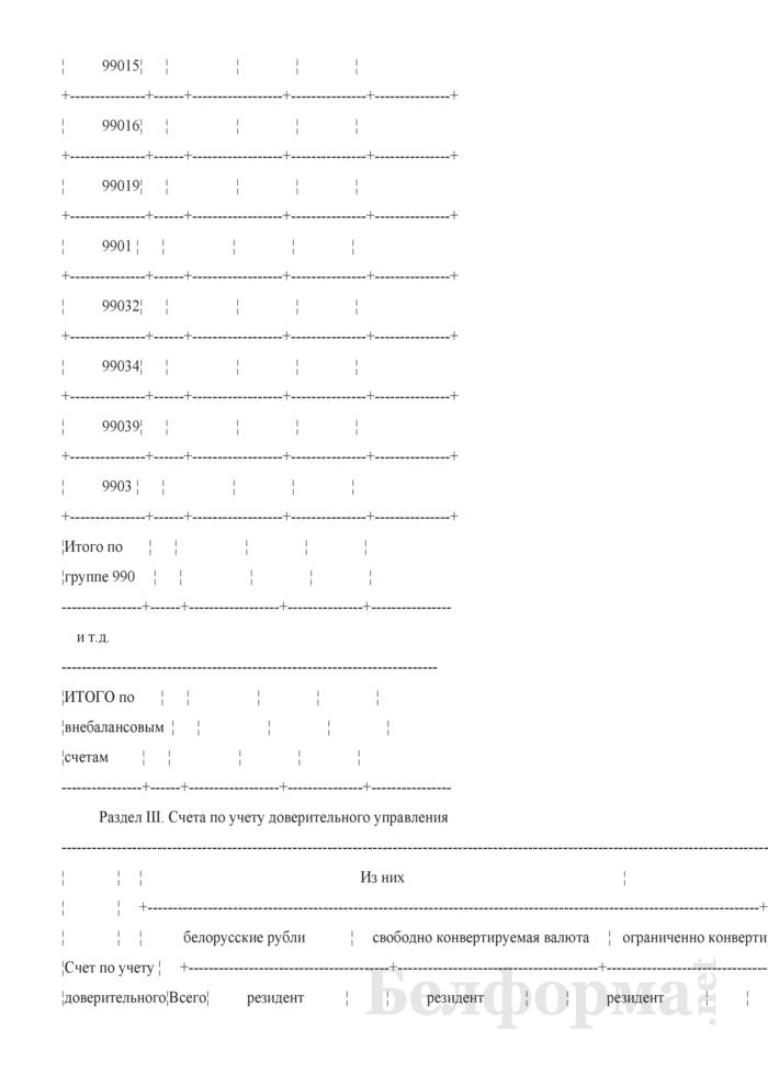 Бухгалтерский баланс (для банков и небанковских кредитно-финансовых организаций). Страница 10