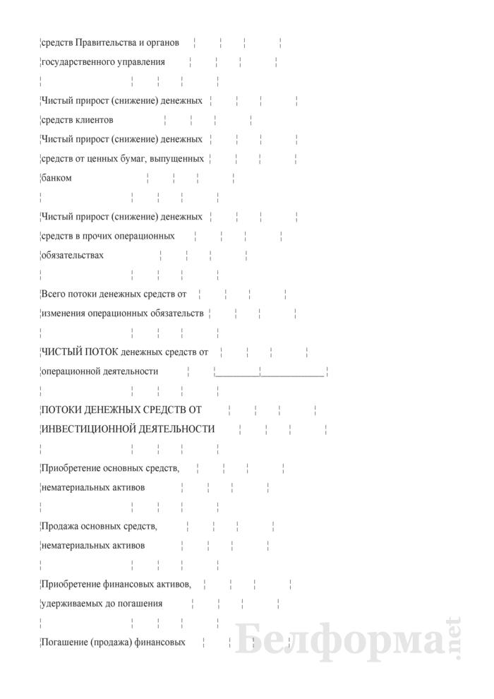 Консолидированный отчет о движении денежных средств. Страница 3