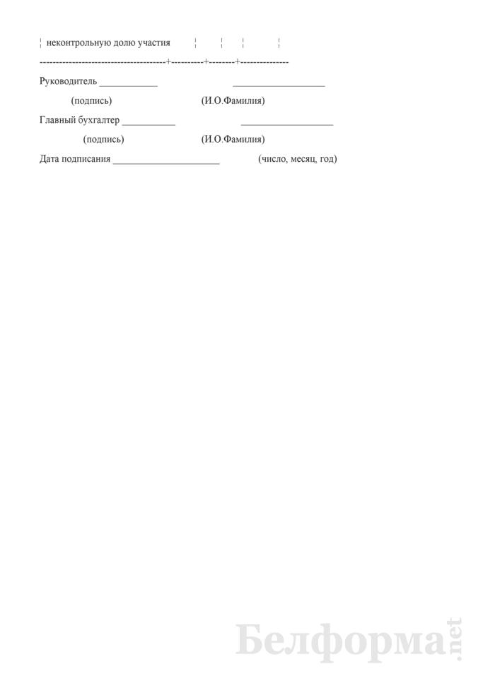 Консолидированный отчет о совокупном доходе. Страница 2