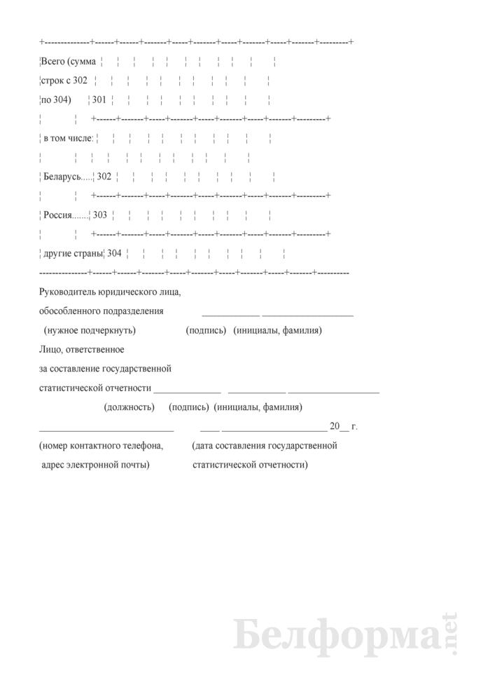 Отчет о состоянии расчетов (Форма 12-ф (расчеты) (месячная, срочная)). Страница 8