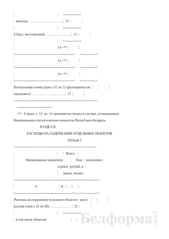 Отчет об отдельных финансовых показателях (Форма 1-ф (офп) (годовая)). Страница 4