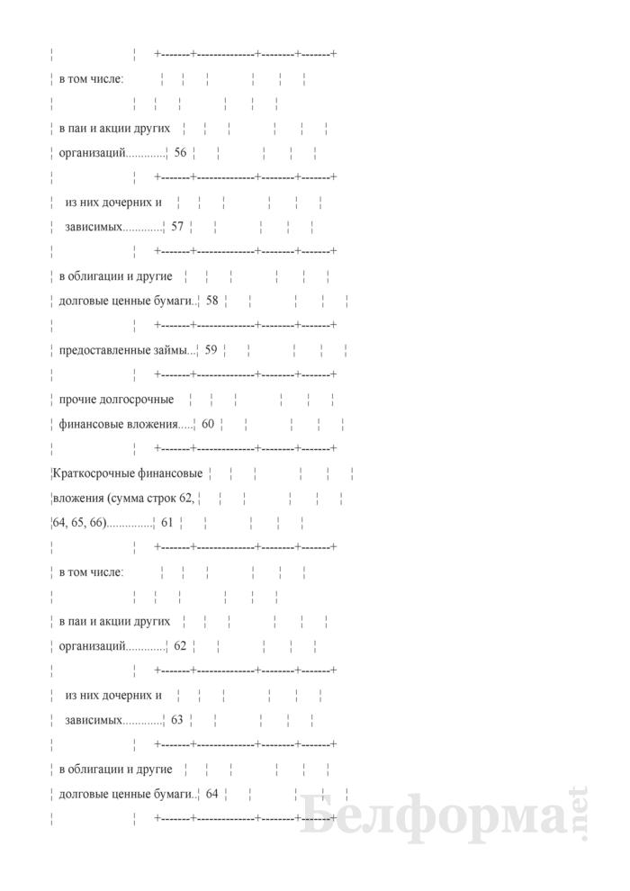 Отчет об отдельных финансовых показателях (Форма 1-ф (офп) (годовая)). Страница 9