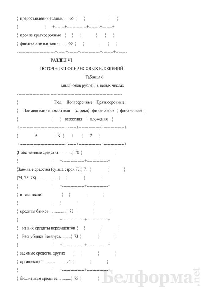 Отчет об отдельных финансовых показателях (Форма 1-ф (офп) (годовая)). Страница 10