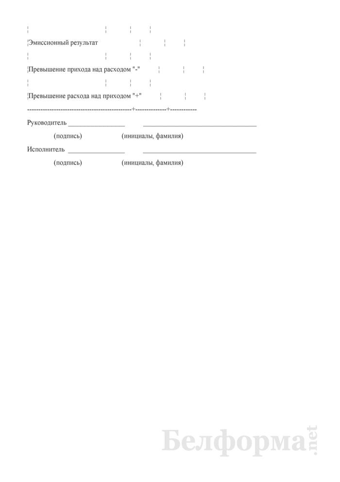 Прогноз наличного денежного оборота (Форма 0533). Страница 3