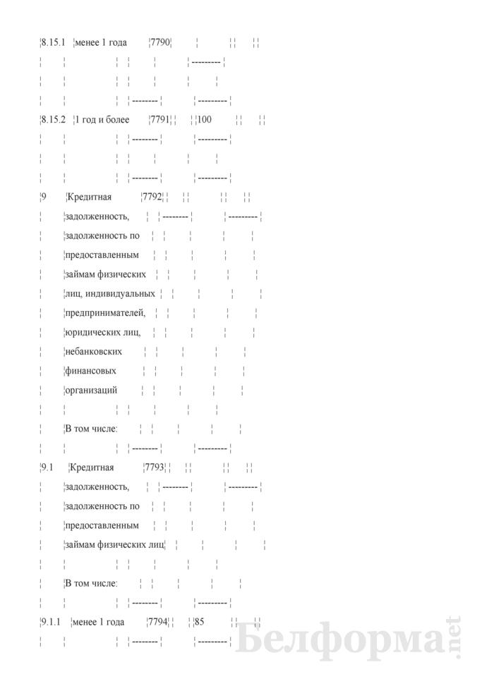 Расчет показателя чистого стабильного фондирования. Страница 29