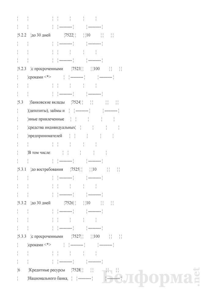 Расчет показателя покрытия ликвидности. Страница 11