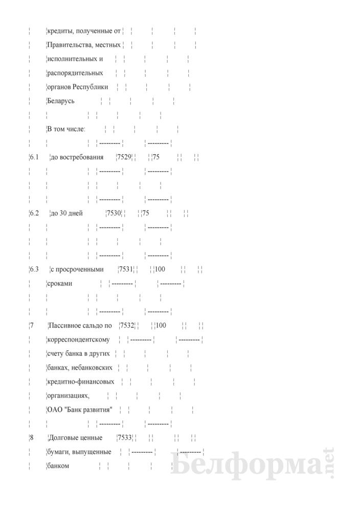Расчет показателя покрытия ликвидности. Страница 12
