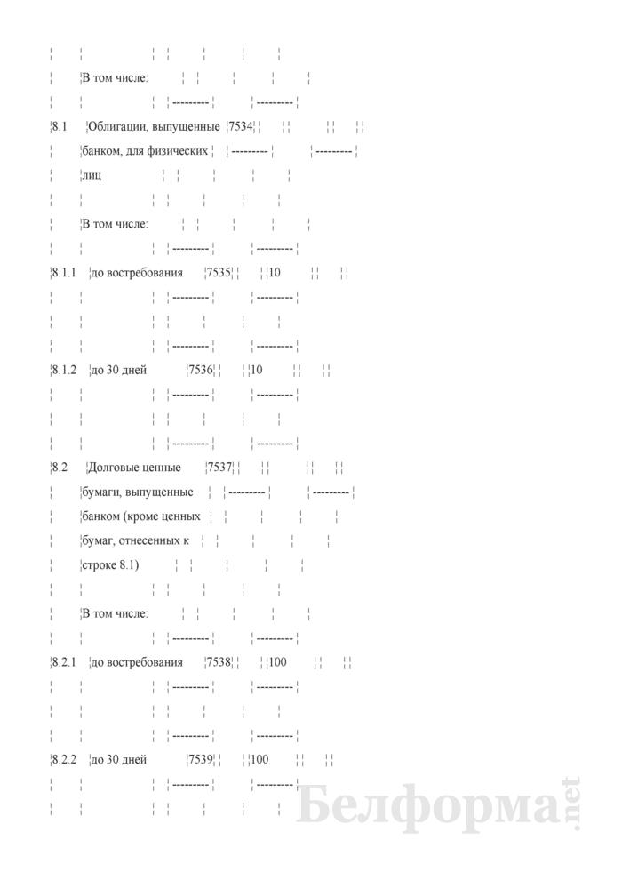 Расчет показателя покрытия ликвидности. Страница 13