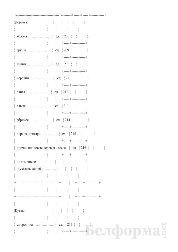 Базовый вопросник (Форма 1сх (дх-базовый) (1 раз в год)). Страница 6