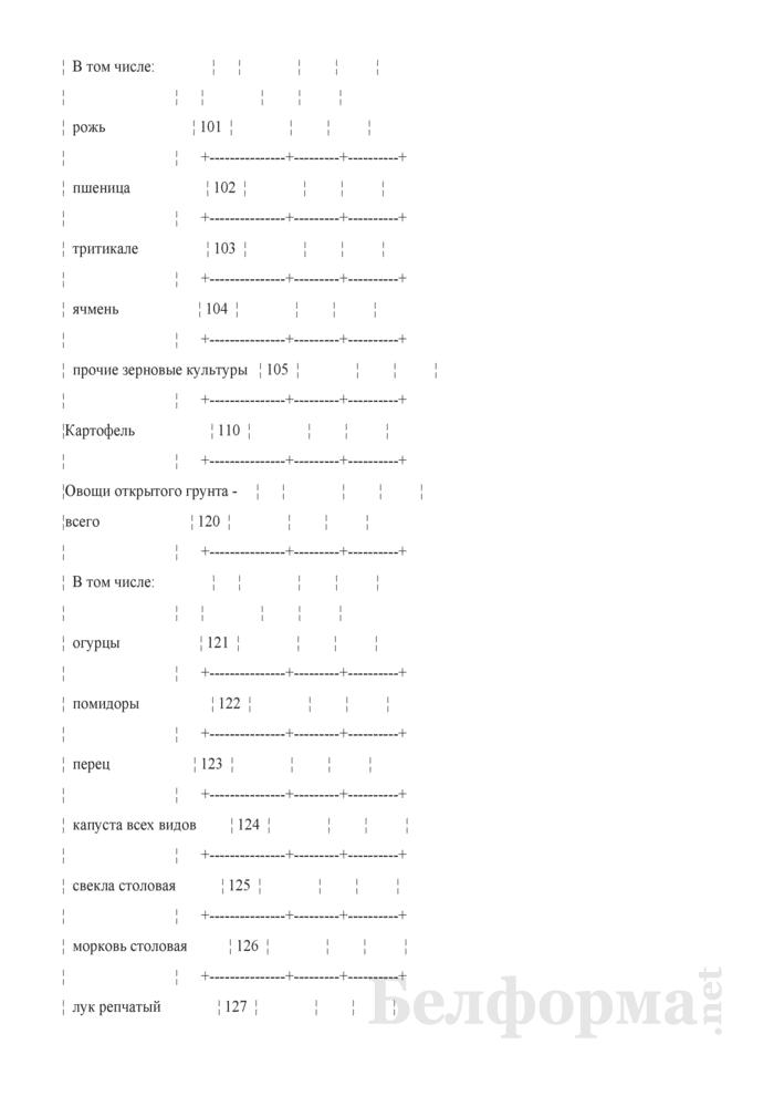 Дневник учета продукции растениеводства (Форма 6-сх (дх-растениеводство) (4 раза в год (за июль, август, сентябрь, октябрь 2010 года)). Страница 3
