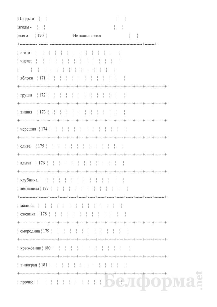 Дневник учета продукции растениеводства (Форма 6-сх (дх-растениеводство) (5 раз в год (за июнь, июль, август, сентябрь, октябрь)), код формы по ОКУД 0617414). Страница 6