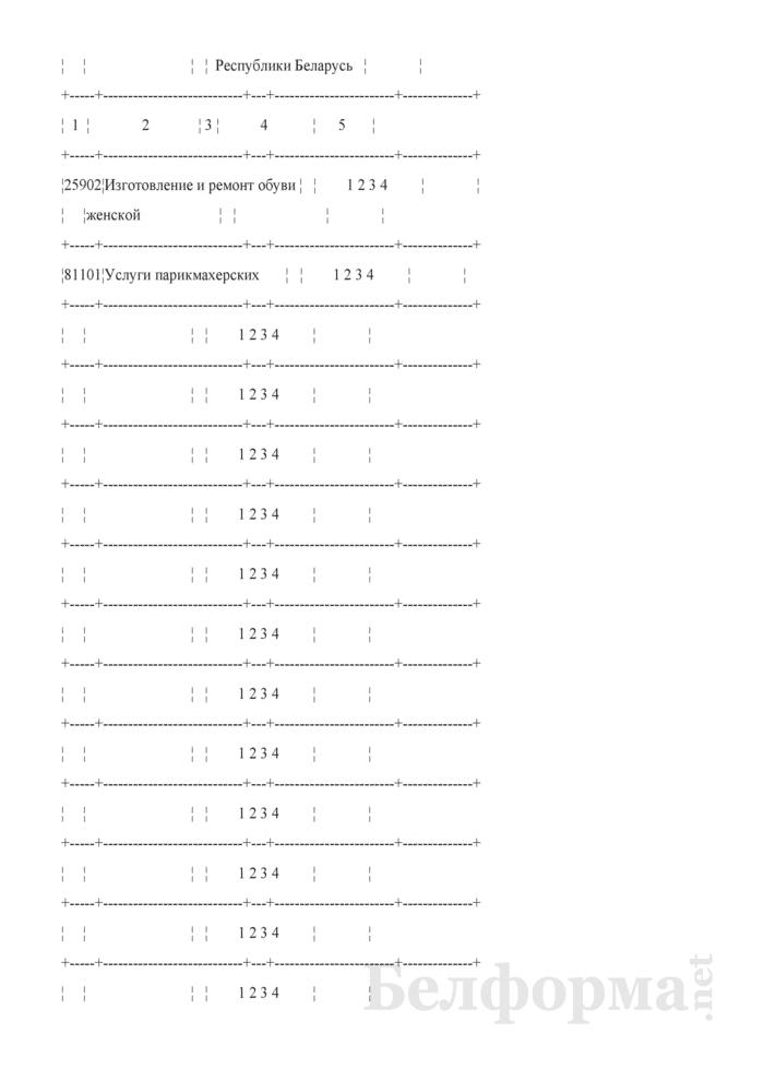 Ежеквартальный вопросник по расходам и доходам домашних хозяйств (Форма 4-дх (вопросник) (квартальная)). Страница 13