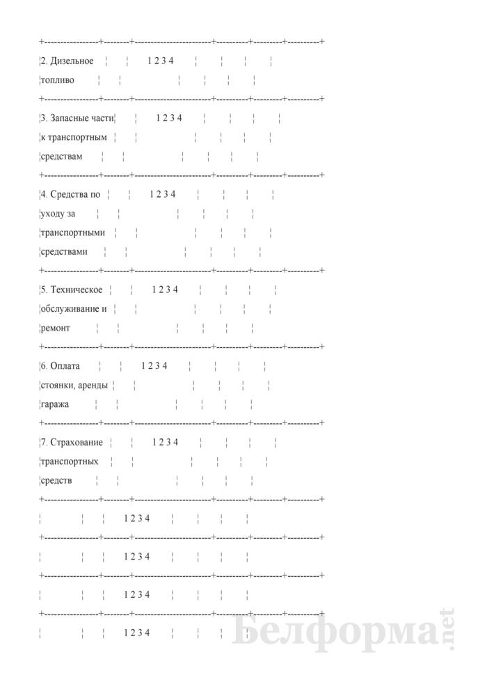 Ежеквартальный вопросник по расходам и доходам домашних хозяйств (Форма 4-дх (вопросник) (квартальная)). Страница 30