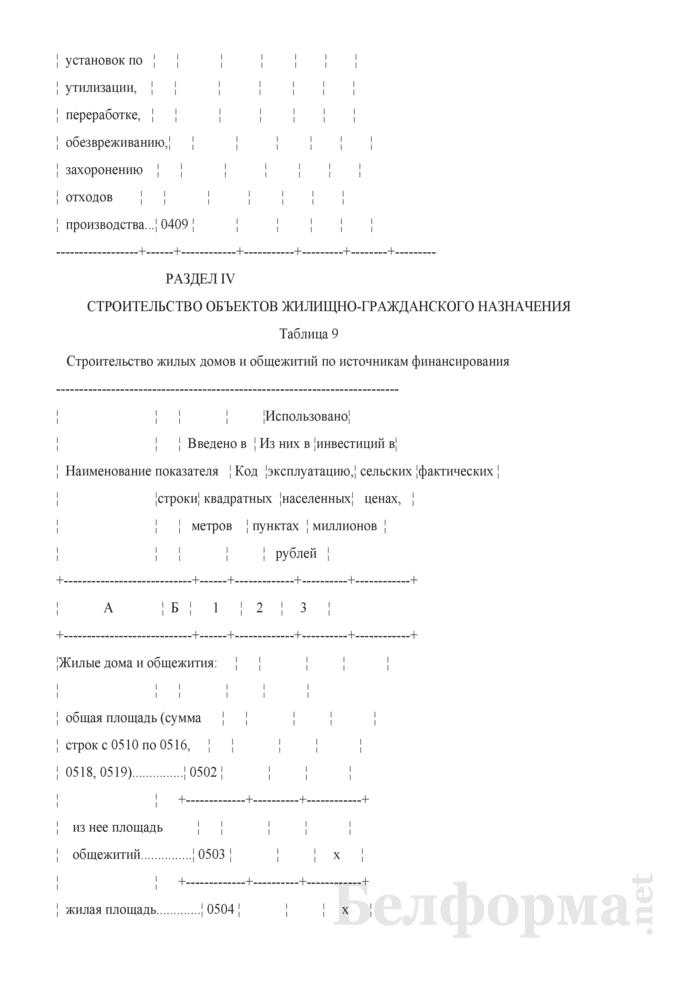 Годовой отчет о вводе в эксплуатацию объектов, основных средств и использовании инвестиций в основной капитал (Форма 1-ис (инвестиции) (годовая)). Страница 15