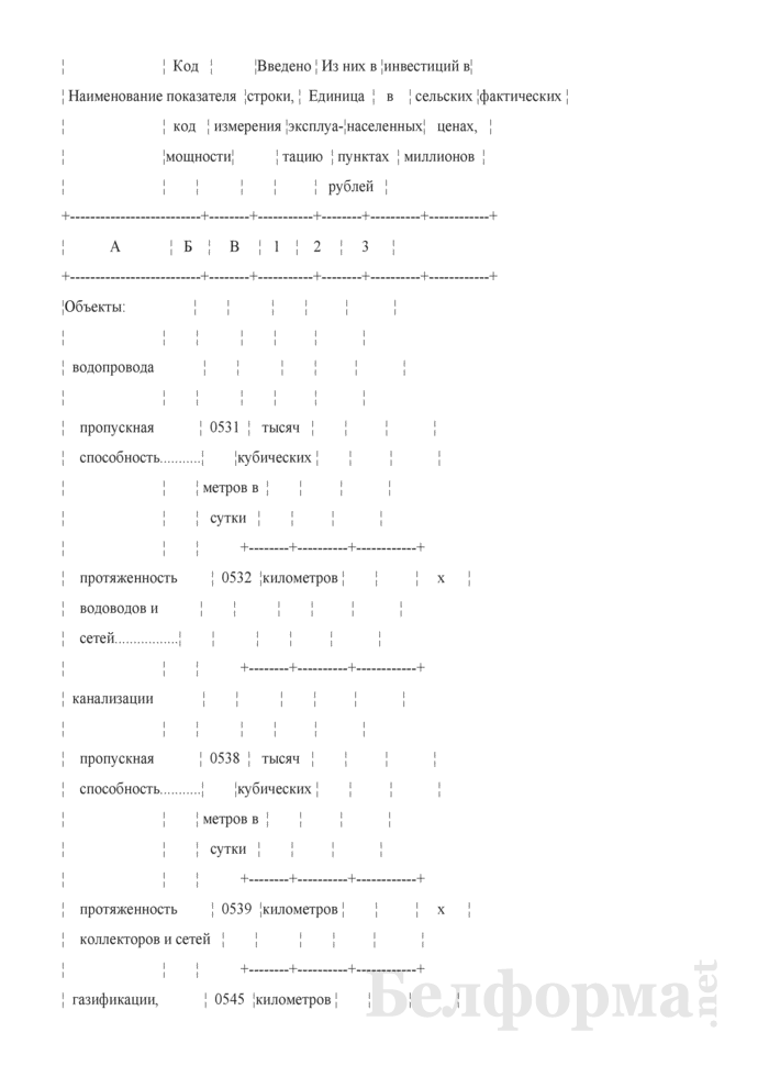 Годовой отчет о вводе в эксплуатацию объектов, основных средств и использовании инвестиций в основной капитал (Форма 1-ис (инвестиции) (годовая)). Страница 19