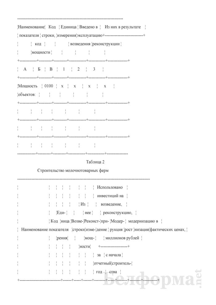 Годовой отчет о вводе в эксплуатацию объектов, основных средств и использовании инвестиций в основной капитал (Форма 1-ис (инвестиции) (годовая)). Страница 3