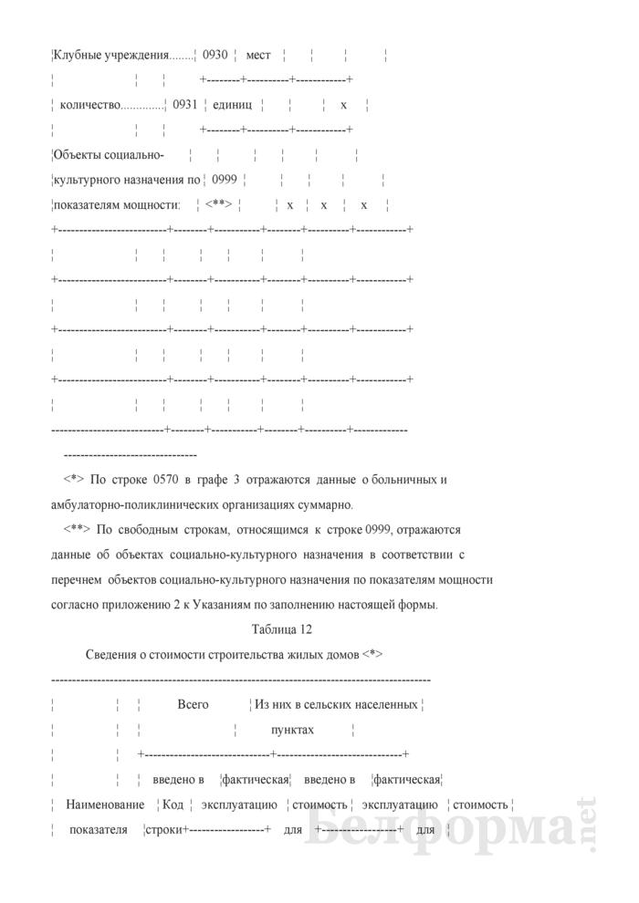 Годовой отчет о вводе в эксплуатацию объектов, основных средств и использовании инвестиций в основной капитал (Форма 1-ис (инвестиции) (годовая)). Страница 21