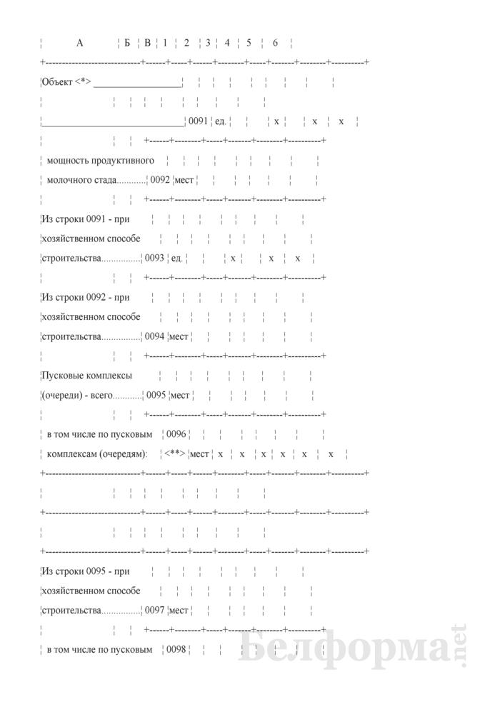 Годовой отчет о вводе в эксплуатацию объектов, основных средств и использовании инвестиций в основной капитал (Форма 1-ис (инвестиции) (годовая)). Страница 4