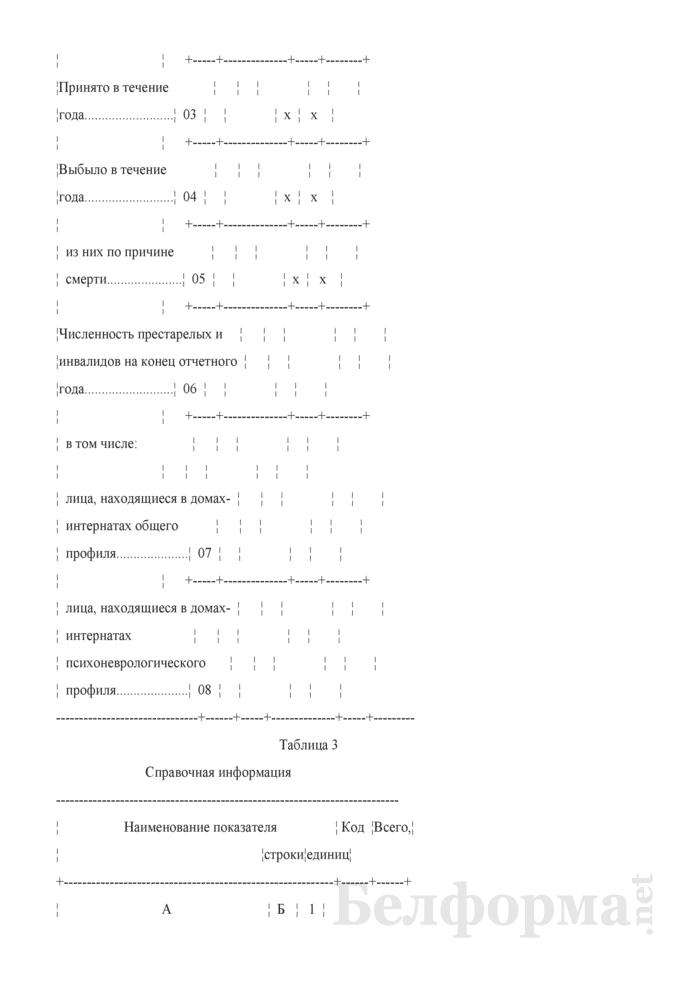 Отчет дома-интерната для престарелых и инвалидов (Форма 1-дом-интернат (Минтруда и соцзащиты) (годовая)). Страница 4