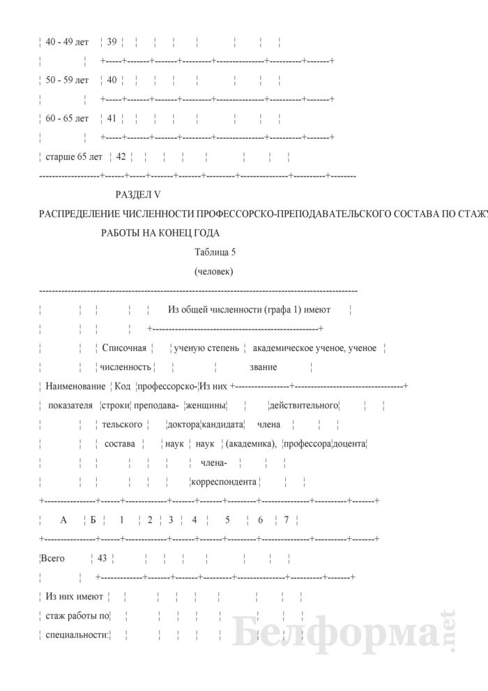 Отчет о численности профессорско-преподавательского состава (Форма 1-пк (Минобразование) (годовая)). Страница 9