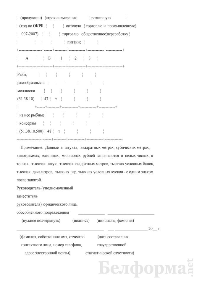 Отчет о деятельности организации оптовой торговли (Форма 1-торг (опт) (годовая)). Страница 13