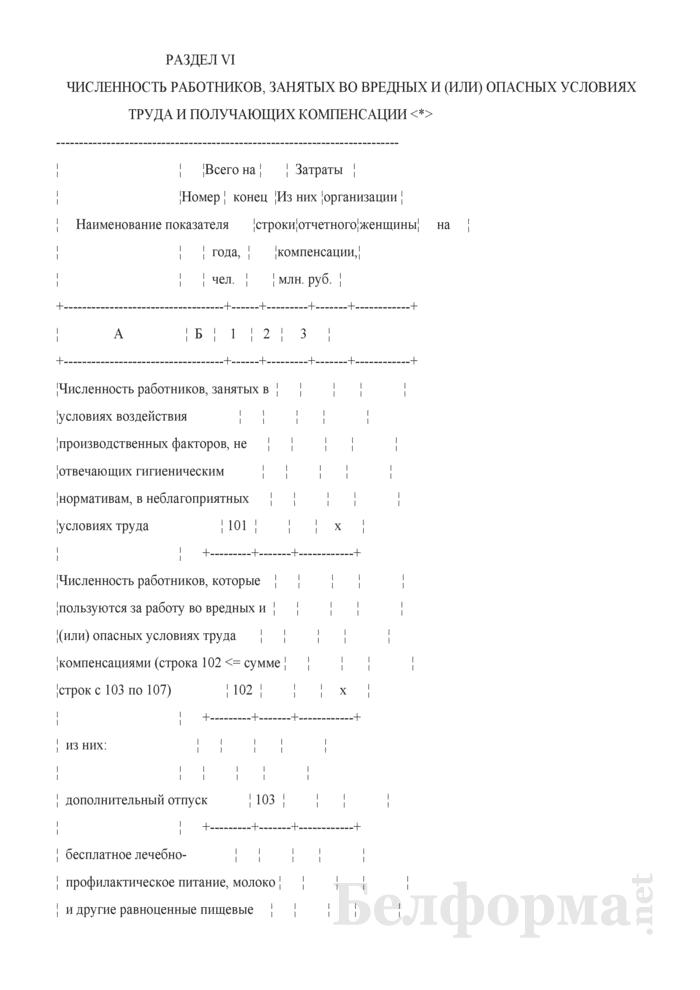 Отчет о деятельности организации в рамках мониторинга социально-трудовой сферы. Форма 2-мониторинг (Минтруда и соцзащиты) (полугодовая). Страница 15