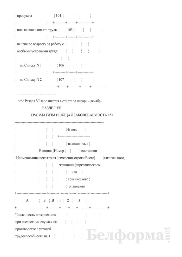 Отчет о деятельности организации в рамках мониторинга социально-трудовой сферы. Форма 2-мониторинг (Минтруда и соцзащиты) (полугодовая). Страница 16