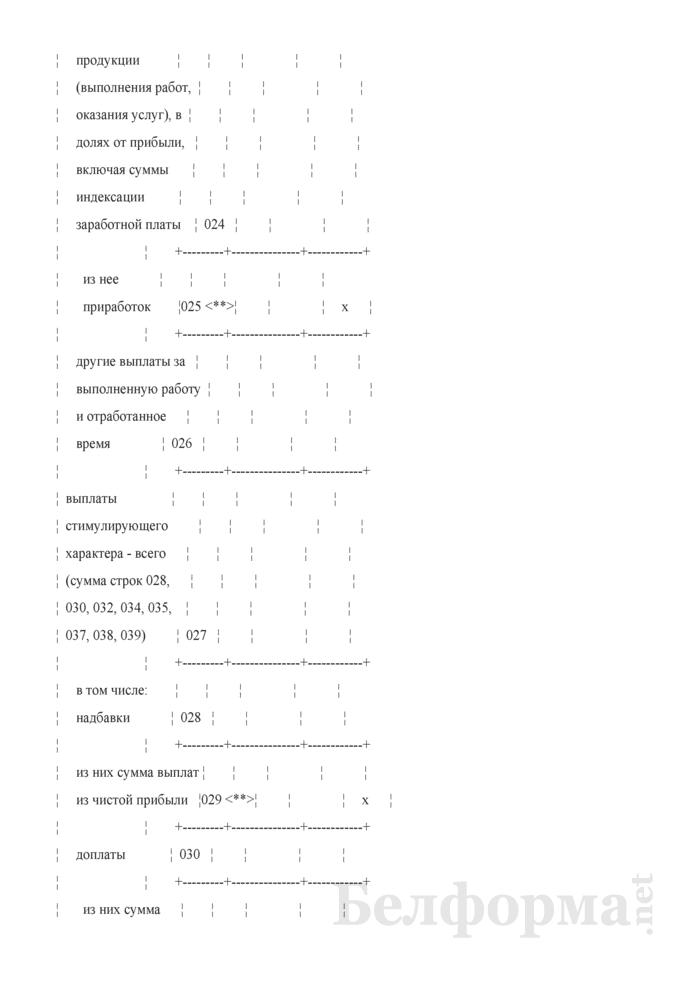 Отчет о деятельности организации в рамках мониторинга социально-трудовой сферы. Форма 2-мониторинг (Минтруда и соцзащиты) (полугодовая). Страница 6