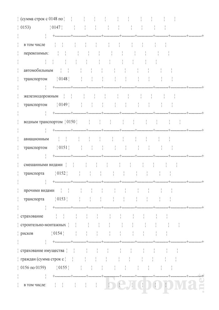 Отчет о деятельности страховой организации. Форма 4-с (Минфин) (квартальная). Страница 26