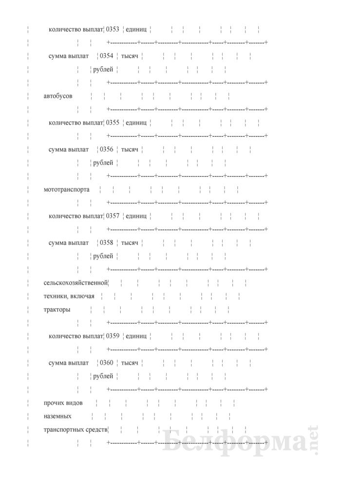Отчет о деятельности страховой организации. Форма 4-с (Минфин) (квартальная). Страница 55