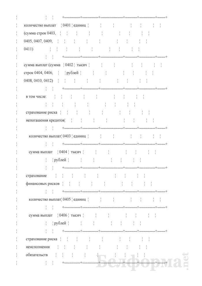 Отчет о деятельности страховой организации. Форма 4-с (Минфин) (квартальная). Страница 64