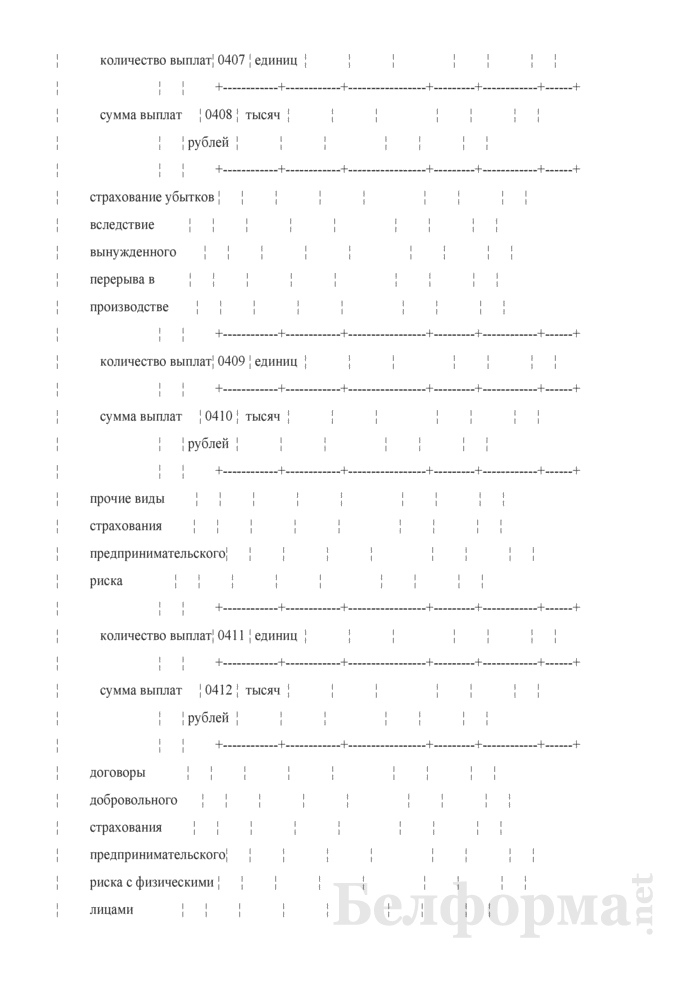 Отчет о деятельности страховой организации. Форма 4-с (Минфин) (квартальная). Страница 65