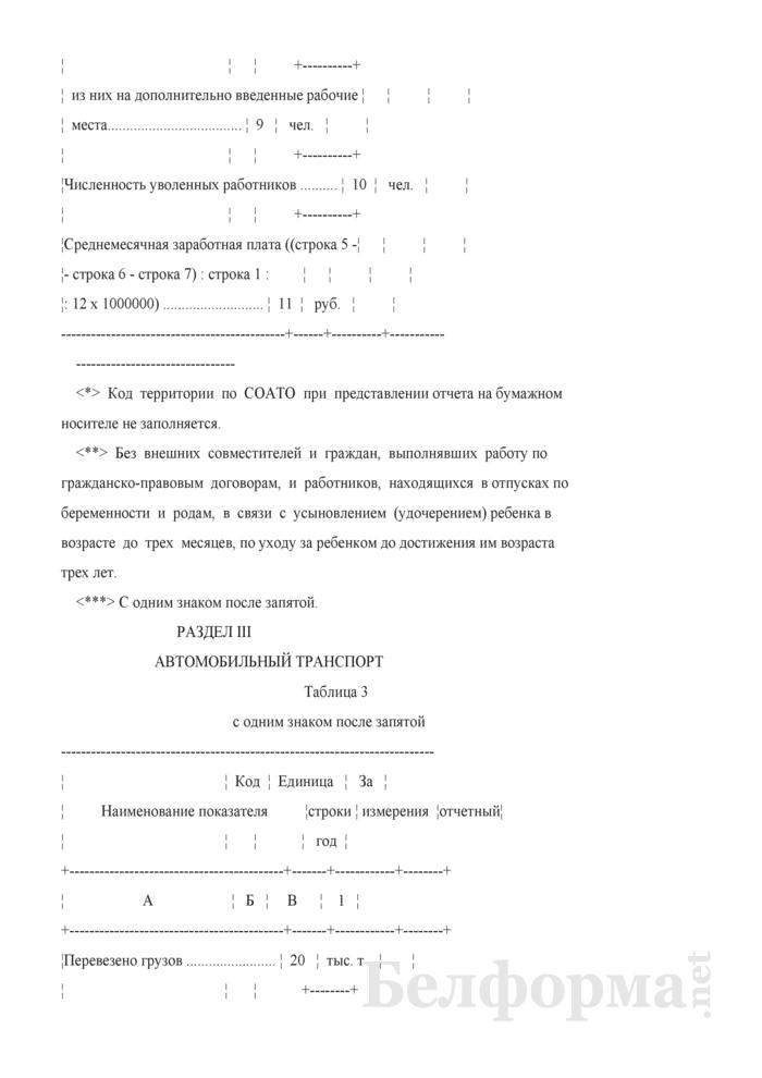 Отчет о финансово-хозяйственной деятельности малой организации (Форма 1-мп (годовая)). Страница 5