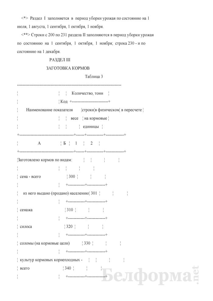 Отчет о ходе сельскохозяйственных работ (Форма 6-сх (сельхозработы) (7 раз в год) (срочная)). Страница 6