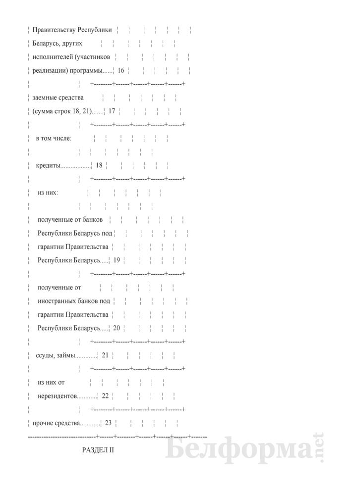 Отчет о ходе выполнения государственной программы (Форма 1-ф (гп) (годовая)). Страница 7