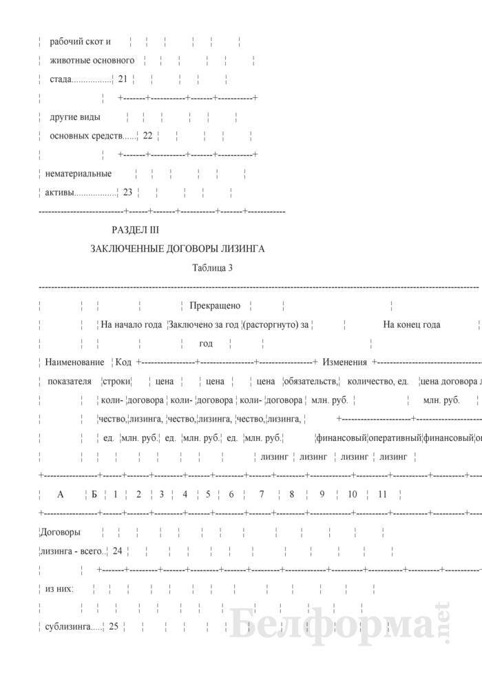 Отчет о лизинге (Форма 1-ф (лизинг) (годовая)). Страница 6