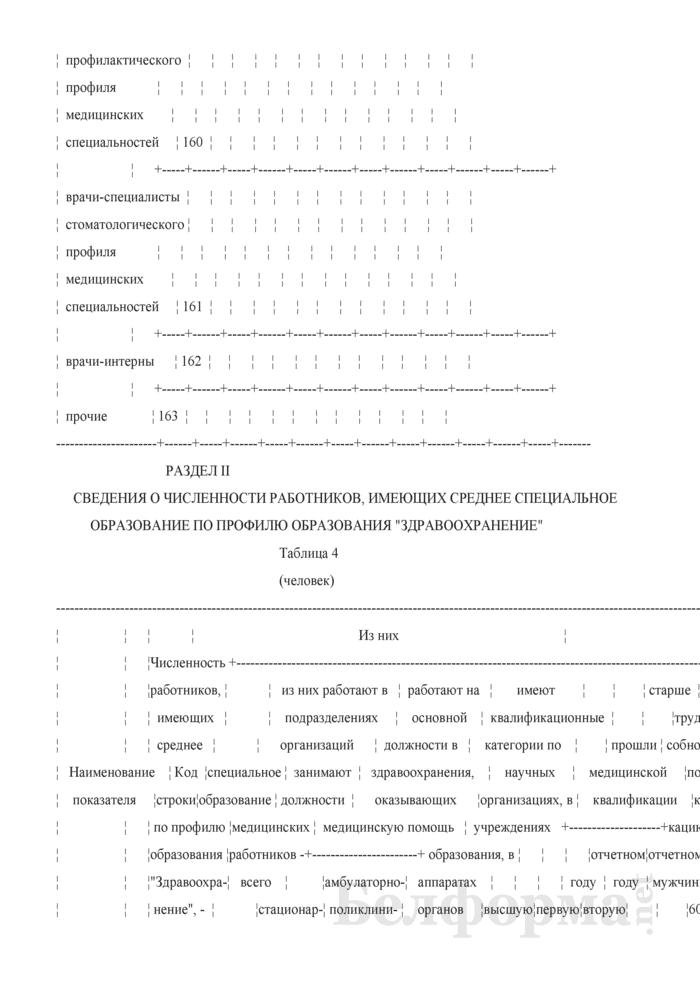 Отчет о медицинских (фармацевтических) работниках (Форма 1-медкадры (Минздрав) (годовая)). Страница 19