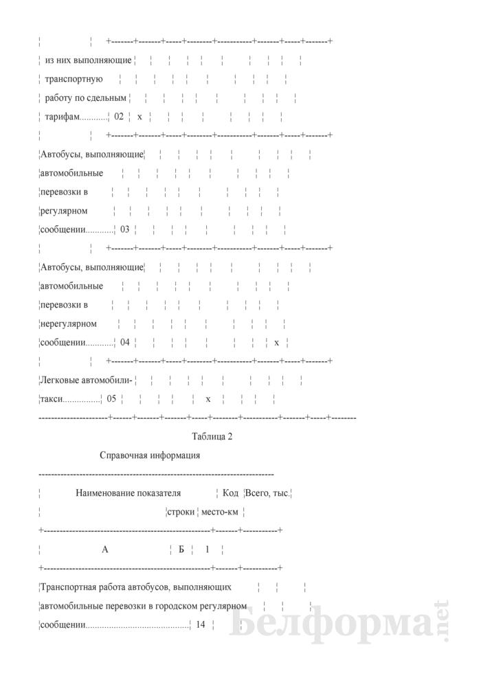Отчет о наличии и использовании автомобильного транспорта (Форма 12-тр (авто) (месячная)). Страница 4
