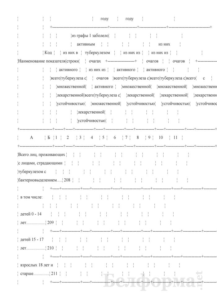 Отчет о пациентах с туберкулезом (Форма 1-туберкулез (Минздрав) (годовая)). Страница 28