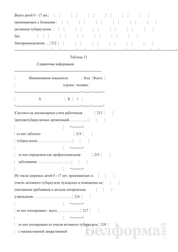 Отчет о пациентах с туберкулезом (Форма 1-туберкулез (Минздрав) (годовая)). Страница 29