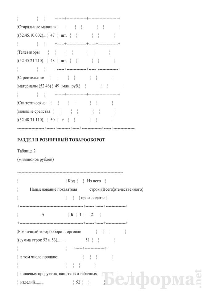 Отчет о продаже и запасах товаров (Форма 4-торг (продажа) (квартальная), код формы по ОКУД 0609002). Страница 9
