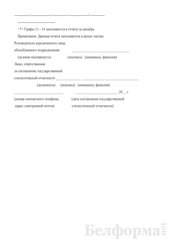 Отчет о производстве промышленной продукции (работ, услуг) (Форма 12-п (месячная, срочная)). Страница 9