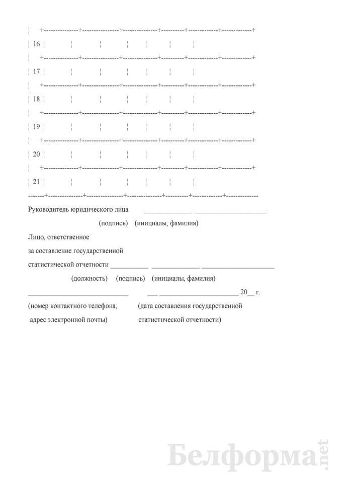 Отчет о работе ветеринарных лабораторий (Форма 2-вет лаборатории (Минсельхозпрод) (полугодовая)). Страница 8