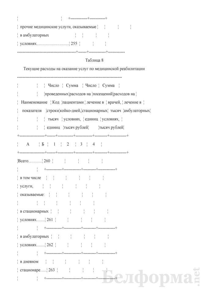 Отчет о расходах на здравоохранение (Форма 1-нсз (Минздрав) (годовая)). Страница 19