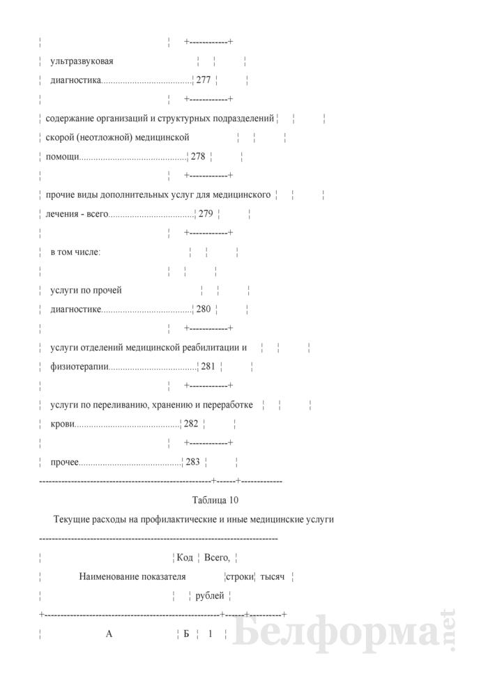 Отчет о расходах на здравоохранение (Форма 1-нсз (Минздрав) (годовая)). Страница 21
