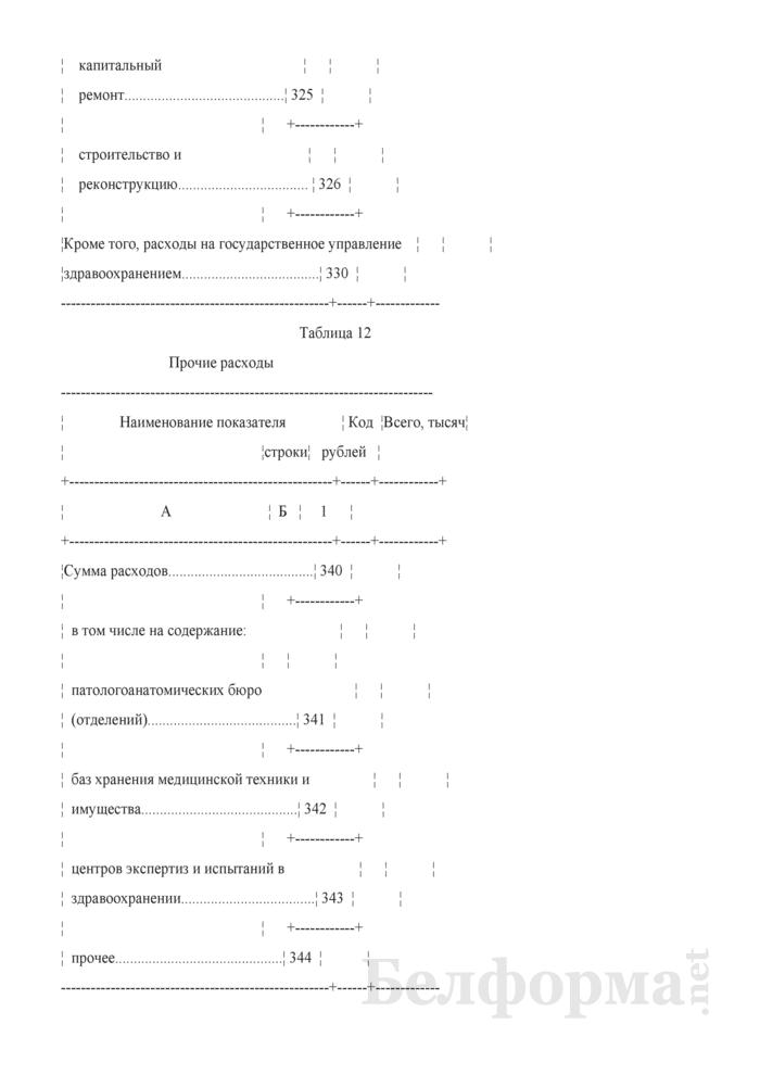 Отчет о расходах на здравоохранение (Форма 1-нсз (Минздрав) (годовая)). Страница 25